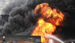 ذكاء سائق ومهمة انتحارية.. 35 رجل إطفاء يواجهون لهيب 30 طن بنزين بأكتوبر