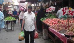 تراجع الملوخية.. أسعار الخضر والفاكهة بسوق العبور اليوم