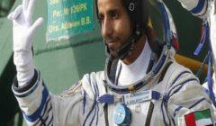 أول رائد فضاء إماراتي يعود لبلاده وسط إستقبال رسمي كبير