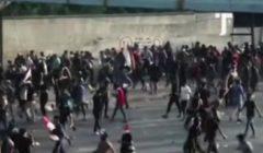 قنبلة غاز تنهي حياة متظاهر عراقي
