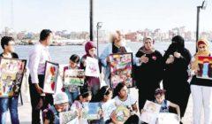 عادل بنيامين.. معرض متجول لإعادة الذوق والإبداع إلى الشارع
