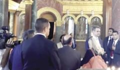 رئيس وزراء اليونان يزور الكنيسة الدائرية بـ«مجمع الأديان»