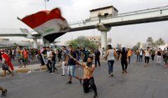 """""""الجيش الأحمر"""".. مواقع مقربة من إيران تحاول """"تشويه"""" متظاهري العراق"""