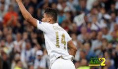 كاسيميرو يتفوق على لاعبي ريال مدريد برقم مميز