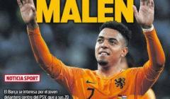 غلاف السبورت : برشلونة يراقب مالين