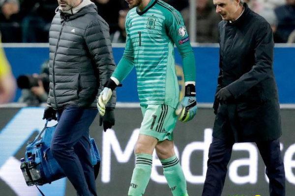دي خيا يغيب شهرين عن مباريات مانشستر يونايتد