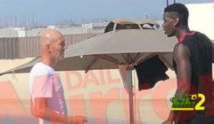 زيدان يكشف ما دار بينه وبين بوجبا في لقاء دبي
