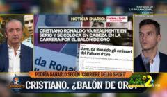 الشرينغيتو : رونالدو الأقرب بالفوز بالكرة الذهبية