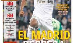 غلاف الآس : مدريد تُقلع