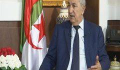 المرشح الرئاسي الجزائري تبون يتعهد بفتح حوار وطني واسع لتعديل الدستور