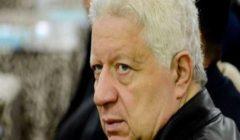 وصول مرتضى منصور للمرافعة في قضية محمود البنا شهيد الشهامة