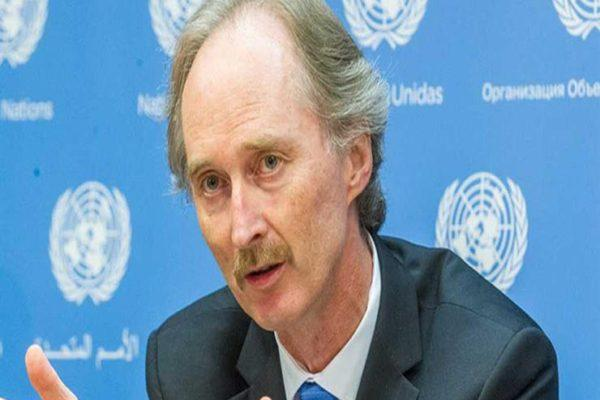 المبعوث الأممي: محادثات الدستور السورية لم تتوصل بعد إلى اتفاق