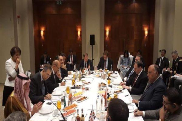 وزراء خارجية المجموعة المُصغرة حول سوريا يرحبون بإطلاق لجنة الدستور