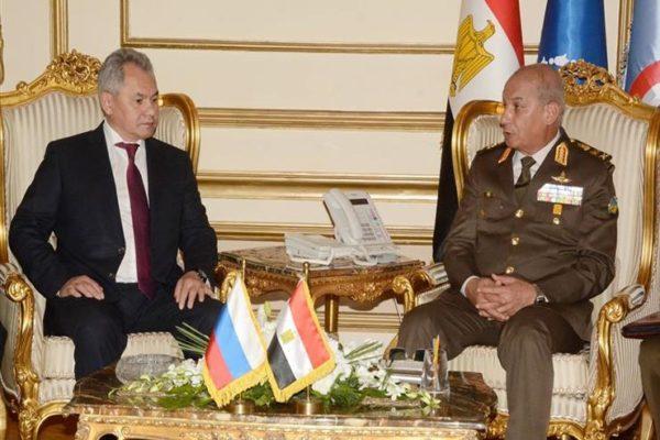 وزيرا دفاع مصر وروسيا يترأسان اجتماعات لجنة التعاون العسكري المشتركة
