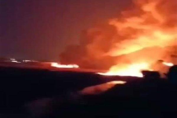 """""""لصوص حاولوا السرقة"""".. البترول تكشف سبب حريق خط إيتاي البارود"""