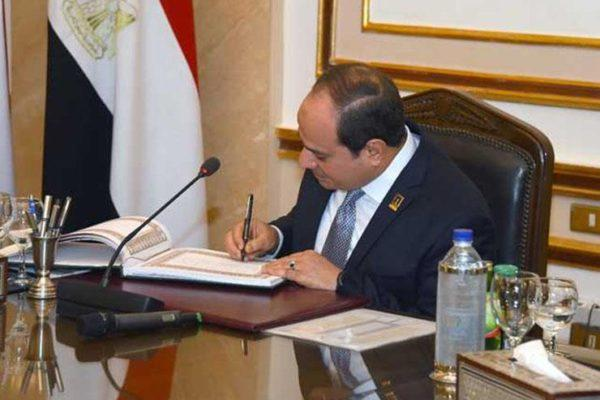 قراران جمهوريان بتخصيص أراضٍ لإقامة تجمعات تنموية بشمال سيناء