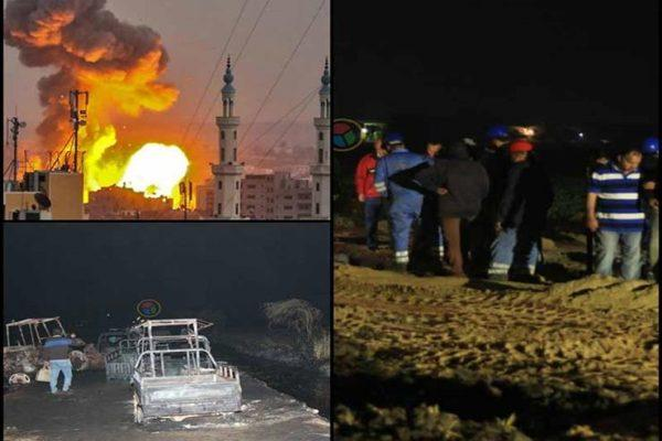 حدث ليلاً| تفاصيل حريق إيتاي البارود وتصاعد الأوضاع في غزة
