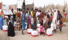 الإمارات تقدم 12 طنا من المساعدات الغذائية في محافظة شبوة اليمنية