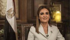 سحر نصر ورئيسة المؤسسة العالمية السويسرية تبحثان زيادة الاستثمارات بين البلدين