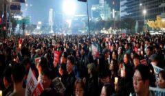 """تظاهرة في كوريا الجنوبية احتجاجا على طلب أمريكي بشأن """"تكاليف الدفاع"""""""
