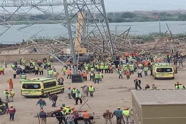 النيابة تصرح بدفن 5 متوفين في حادث انهيار برج كهرباء أوسيم