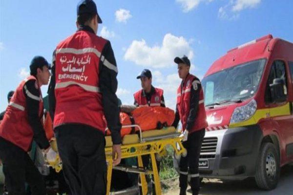 إصابة 5 من أفراد الحماية المدنية التونسية في انفجار خزان وقود بمعبر راس جدير