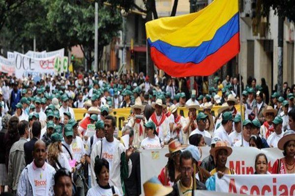 فرض حظر التجول في العاصمة الكولومبية بوجوتا بعد احتجاجات عنيفة