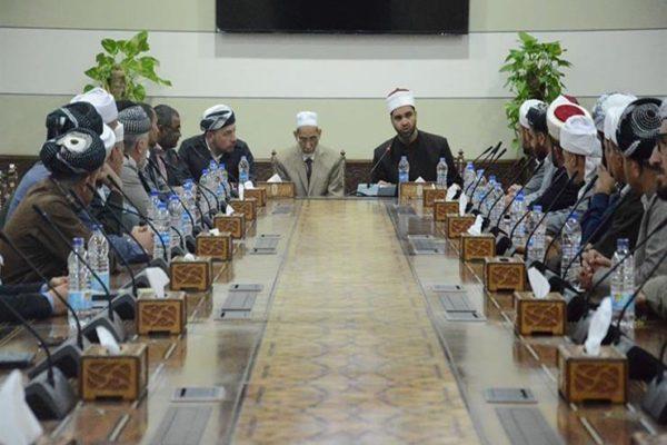 هيئة كبار العلماء تستقبل أئمة كردستان العراق المتدربين بمنظمة خريجى الأزهر