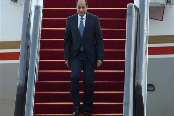 السيسي يصل القاهرة بعد انتهاء زيارته لألمانيا