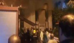 """""""5 ضحايا وصالة متفحمة"""".. لحظات الرعب في حريق """"جيم"""" شهير بالمهندسين (فيديو)"""