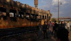 السكة الحديد:إخماد حريق محدود نشب في عربة ركاب بحوش محطة كفر الزيات