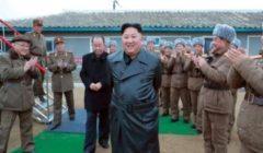 """كيم جونغ أون أشرف على اختبار """"قاذفة صواريخ حجمها كبير جدا"""""""