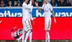 ريال مدريد يحقق انتصارًا صعباً على ألافيس وينفرد بصدارة الليجا مؤقتاً