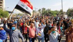 حقوق الإنسان العراقية: مقتل أكثر من 1000 متظاهرين وعناصر أمن خلال الثلاثة أيام الماضية