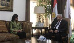 """رئيس """"الأعلى للإعلام"""" يبحث مع وزيرة الهجرة أوجه التعاون المشترك"""