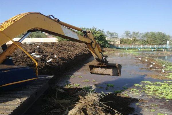 """""""الري"""": إزالة 66 حالة تعد على نهر النيل بـ5 محافظات"""