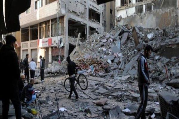 ارتفاع عدد قتلى الغارات الإسرائيلية على غزة إلى 34