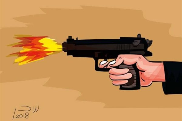 جريمة الدم والانتقام في العياط.. خفير قتل نجله بالرصاص فهشم رأسه