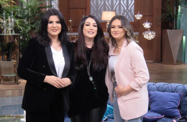 شاهد بالصور .. الظهور الإعلامي الأول لشقيقة عمرو يوسف