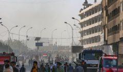 """تظاهرات العراق.. """"جبل"""" جديد قرب جسر السنك ودعوة للإضراب"""