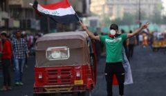 تظاهرات العراق.. أسد لمواجهة كلاب السلطة