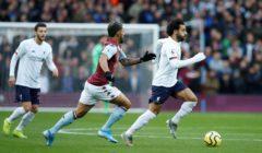 ليفربول يحتفظ بصدارة الدوري الانجليزي بعد فوزه على استون فيلا