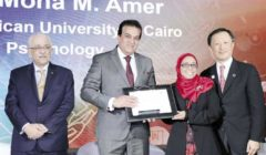 فوز أستاذين بالجامعة الأمريكية فى القاهرة بجائزة «سكوبوس»