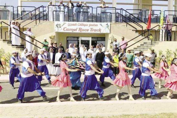 عروض شعبية فى ختام مهرجان «الهجن» بشرم الشيخ