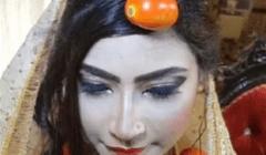 عروس باكستانية ترتدي الطماطم بدلاً من الذهب (فيديو)