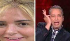 تعليق تامر أمين على ظهور صابرين بدون الحجاب - شاهد بالفيديو ماذا قال