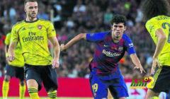 الينا والاقتراب من الرحيل عن برشلونة