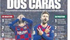 غلاف الموندو : برشلونة ذو الوجهين
