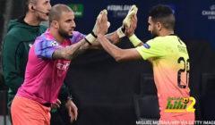 في مباراة الحراس الثلاث السيتي يتعادل في ايطاليا