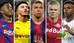 آس تستعرض 9 أسماء سيكونوا أساطير كرة القدم الجدد في العالم